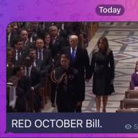 「ビル。RED OCTOBER だ。」
