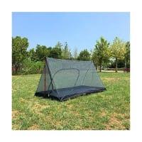 キャンプ(タープ泊と蚊帳)