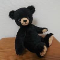 生徒さんの作品 やんちゃな黒クマ子熊ちゃん