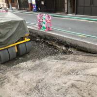 旧市電の軌道敷を撤去?!