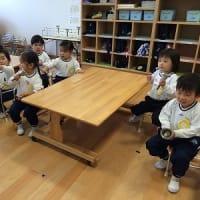 エンジェルクラス わかば組・ひよこ組 英語で遊ぼう&折り紙