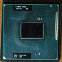 Fujitsu LIFEBOOK AH52DAのCPU換装