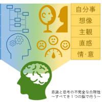 意識と思考の不完全な合理性(限定合理性)~すべてを1つの脳で行う~