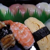 西条酒蔵通りと父の日の寿司
