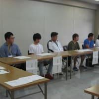 登米市での先進農業体験学習終了式