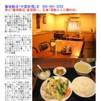 龍城飯店もランチで相変わらず頑張っている。ワンコインの麺・どんぶりも健在。