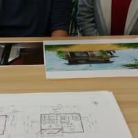 (仮称)葛城でスローライフと薪ストーブを楽しむ吉野杉の家新築計画デザイン設計・・・間取りが決まりつつ生活の価値というポジションを相談しながら暮らしの基準イメージの途中に。