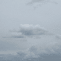 今日のどんより雲