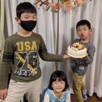 太志8歳の誕生日、おめでとう(#^.^#)