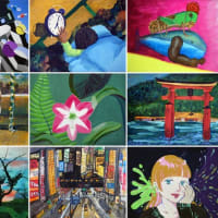川崎市美術展にチャレンジ