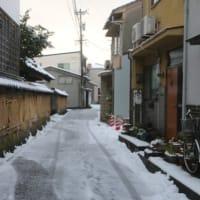 今朝の金沢