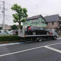 本日「ボルボV60」は千葉県へ登録手続きに向かうスケジュール!