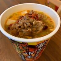 ムムッ。「蒙古タンメン中本✖️納豆」