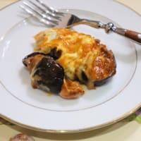 茄子のミートグラタン&牡蠣オイル漬