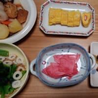 今日の朝食(12月13日)今日もお弁当を意識したメニュー