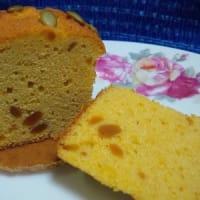 カボチャのケーキが昨日のおやつね:D