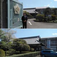 2021.4.7 母校の富岡高校訪問