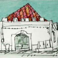 1838. モンティージョの町角