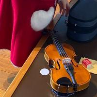 バイオリン、初レッスン