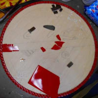 リピータ―さん教室とプルメリアのモザイク終了