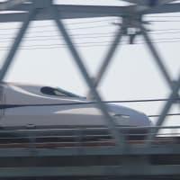 2021/04/07の富士山と久々の新幹線(N700Sまとめ撮り)