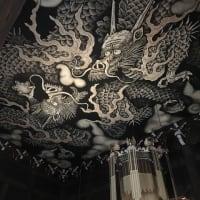 建仁寺の見事な天井画を見る