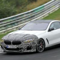 【BMW】電動化と逆行!?新型ミッシップスーパーカー開発車両がPIRELLIタイヤでニュルに!