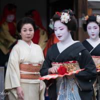 八坂神社節分祭(その1)