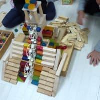 子どもたちの積み木作品です♪