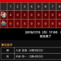 【 鯉 】 連敗ストップでリ・スタート!!