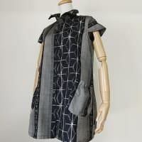 紬の着物からベストチュニック
