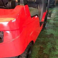 【ご成約済み中古車】緑色から赤にして欲しいとのご要望を頂き、丁寧に塗装していく工程