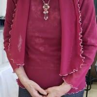 84歳生徒作品、巻ロックのTシャツと小物