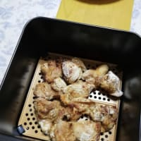 揚げない鶏の唐揚げ