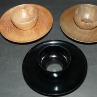 茶道具 3つ 茶碗台