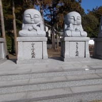 鎌倉・藤沢の観梅散策(2);荒神神社と天獄院を訪れる