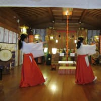 巫女舞の練習