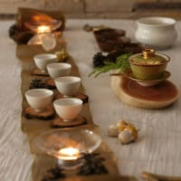 クリスマスの茶席〜キャンドルの灯り