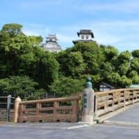 逆川に架かる橋の親柱〔Ⅰ〕