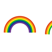 虹の色数。