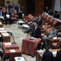 野党連携は政策から。議員立法に邁進。答弁も行いました。
