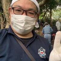 浜勝浦区の避難路清掃を実施しました