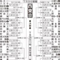 第93回全国高校野球選手権大会 西東京大会展望