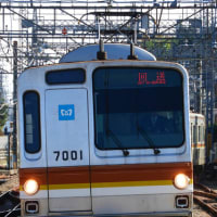 南入曽車両基地イベント&裏で東急車が地上運用