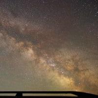 おんねゆの空 天の川と夏の大三角形とデネブそば 2021年5月14日(金)夜