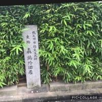 雨の小倉城、森鴎外そして松本清張