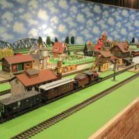 Gゲージの鉄道模型