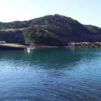 コバルトブルーの堤港