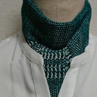 人の風景 emiko life  296話 透かし織り模様の夏用ラリエッタを作りました