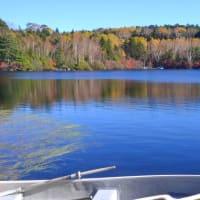 標高2000m越えの湖、白駒池の紅葉を今年も見る。